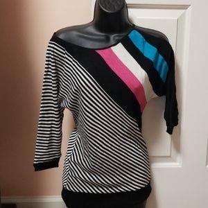 ⬇️ 2B bebe Cold Shoulder Light Sweater NWT